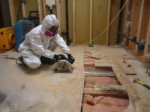 911 Restoration Floor Removal